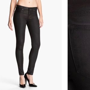 Rich & Skinny Faux Leather Skinny Jeans